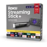 Roku Streaming Stick+ | HD/4K/HDR Streaming Device with Long-range Wireless and Roku Voice Remote with TV Controls