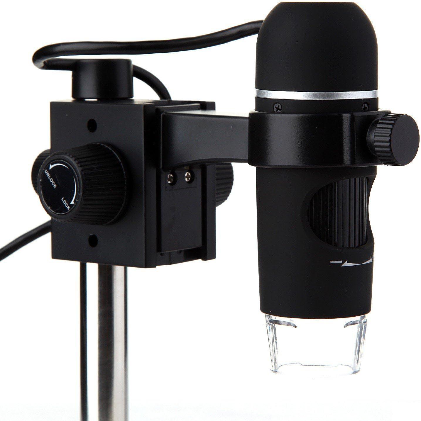 UM012C Portable 5M Pixels 300X 8 LED USB Digital Microscope