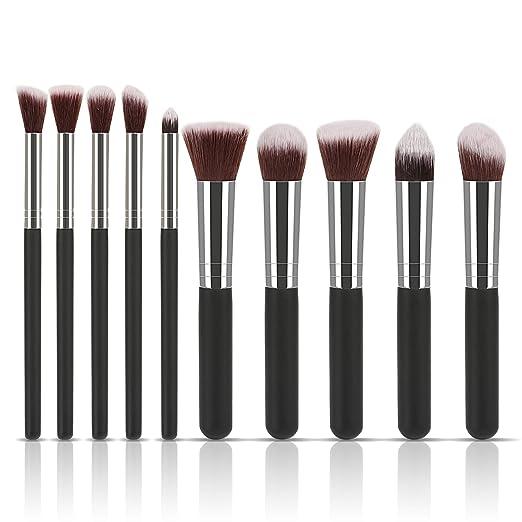 8 opinioni per LIHAO Make Up Pennelli Professionale Cosmetica Trucco Set con Caso in Cuoio-