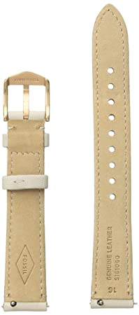 Fossil Womens S161060 Analog Display White Watch