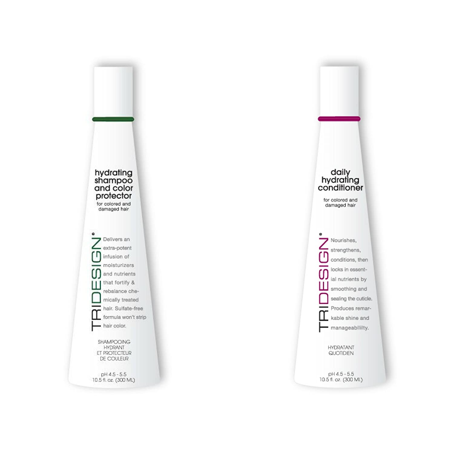 TRI Hydrating Shampoo and Color Protector and Daily Hydrating Conditioner 10.5 oz. Set