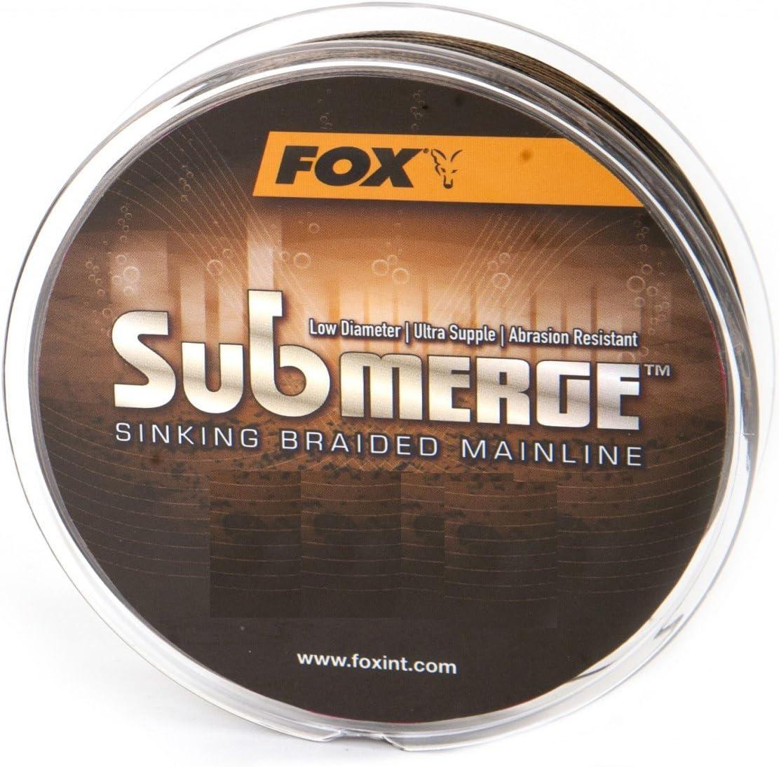 Fox Submerge sinking Braided Mainline geflochtene Karpfenschnur 300m Durchmesser:0.30mm