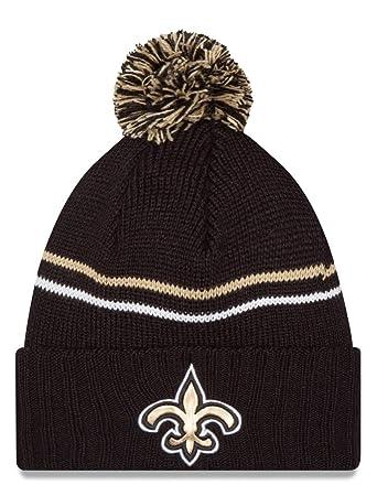b5d79500038 New Orleans Saints New Era NFL  quot Logo Crisp quot  Cuffed Knit Hat ...