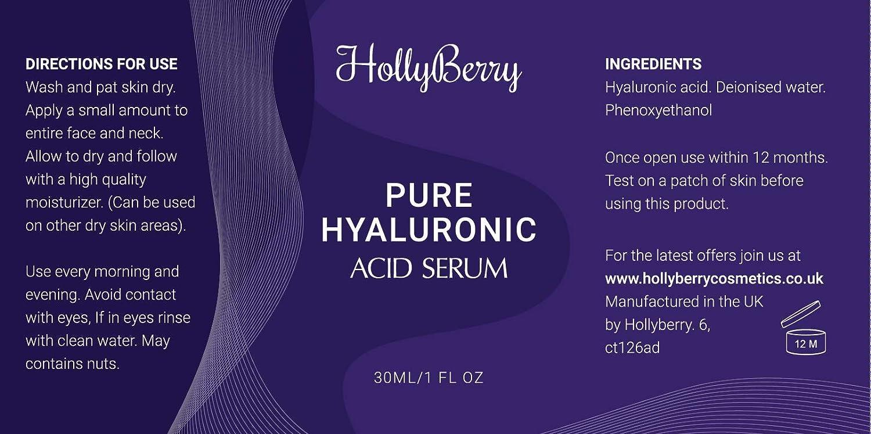 Puro ácido hialurónico serum por acebo para profesional hidratación anti envejecimiento Bring vitalidad y joven brillo a tu cara mejor Anti Envejecimiento, ...