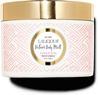 product image for LALICIOUS Sugar Kiss Velour Body Melt - Gel-to-Oil Moisturizer with Macadamia Nut Seed Oil (8 Ounces)