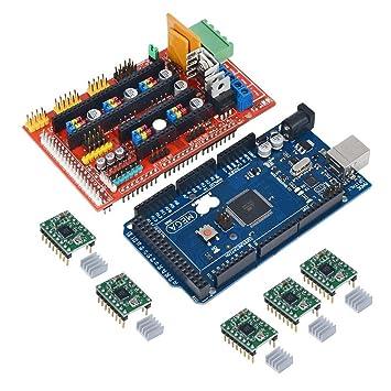 LEORX AMPERIOS de controlador de impresora 3D REPRAP 1.4 + ...