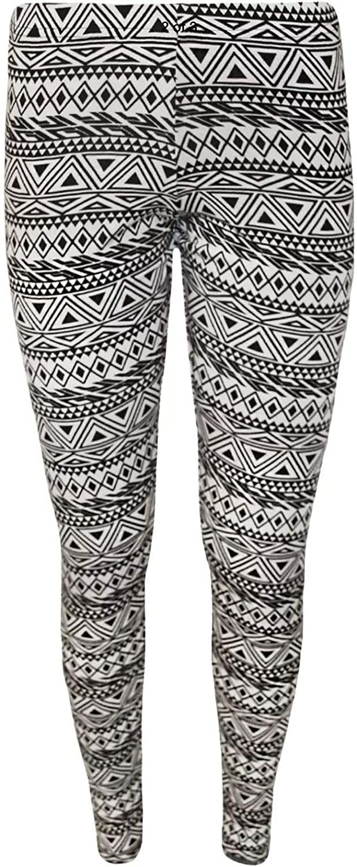 Islander Fashions Enfants Enfants Filles Imprim Maigre Toute La Longueur Stretchy Pantalon Leggings Pantalon 7-13 Ans
