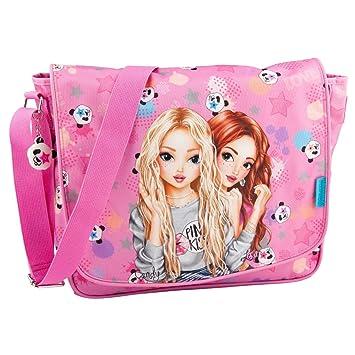 TOPModel Umhängetasche Panda pink 10601: : Koffer