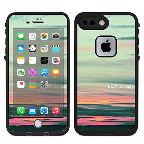 wholesale dealer 14725 849b4 Amazon.com: Skin Decal Vinyl Wrap for Lifeproof iPhone 7 Plus Fre ...