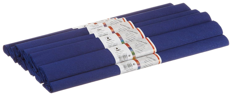 Staufen 617150 - Krepppapier 10 Rollen 50 x 250 cm, lappland - blau 12061118