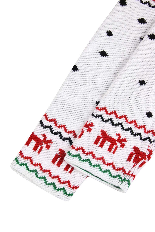 Pink Queen Women Christmas Reindeer Open Front Long Sleeve