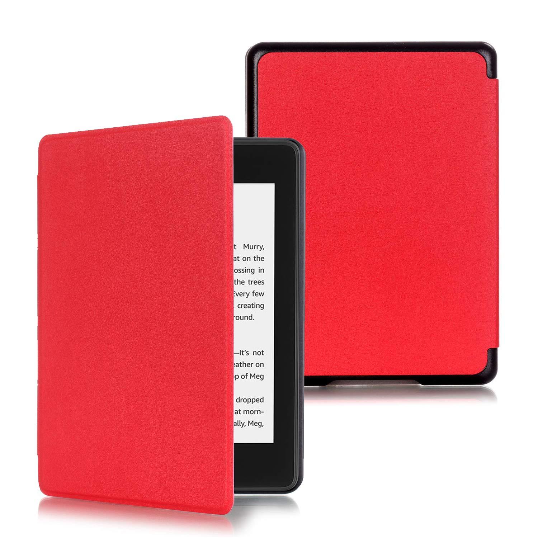 Slim Smart Cover Funda Protectora de PU Cuero para Kindle 2019 Negro Kepuch Custer Kindle 2019 Funda