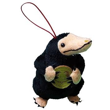 Felpa Peluche 10cm ESCARBATO Animale Magico de ANIMALES FANTASTICOS Y DONDE INCONTRARLOS Version CON MONEDA -