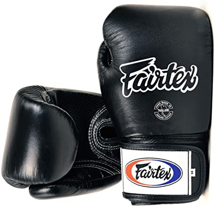 FAIRTEX MUAY THAI BOXING GLOVES BGV1 BLACK