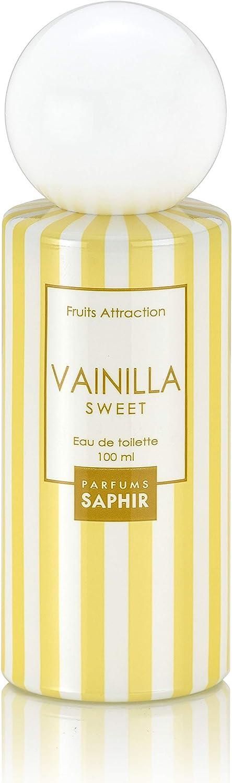 PARFUMS SAPHIR Fruit Attraction Vainilla Eau de Toilette para Mujer - 100 ml