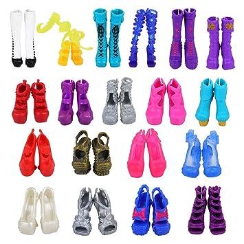 Amazon.es: Miunana 10 pares Zapatos Selección Aleatoria para Monster ...