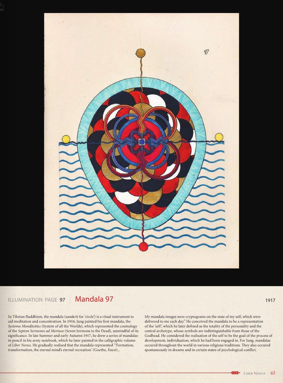 Amazon Carl Jung Red Book Mandala 97 Liber Novus Fine Art