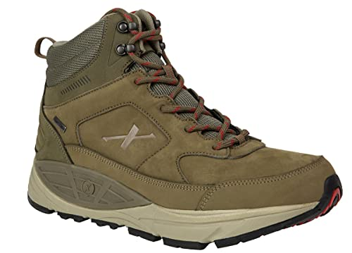 9a47e9faf3c Xelero Hyperion II-High Men's Comfort Therapeutic Extra Depth Hiking Shoe  Leather/Mesh Lace-up