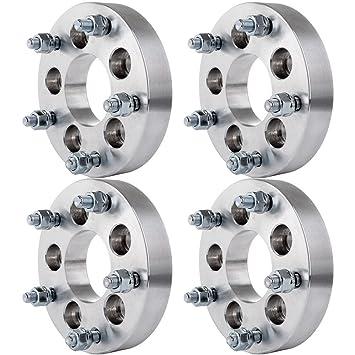 """eccpp rueda espaciadores 4 piezas 1,25 """"(32 mm) 5 x"""