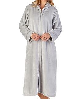 Belloo Ladies Soft Fleece Dressing Gown Full Length Fluffy Bathrobe