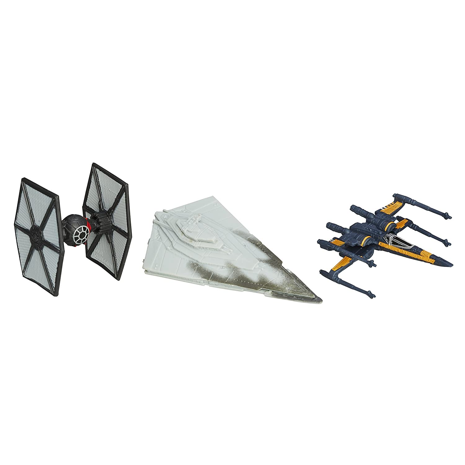 Star Wars The Force Awakens Micro Machines 3-Pack The First Order Attacks Hasbro B3501AS0