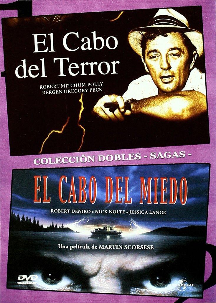 El Cabo Del Terror + El Cabo Del Miedo [DVD]: Amazon.es: Gregory Peck, Jessica Lange, Nick Nolte, Polly Bergen, Robert De Niro, Robert Mitchum, J. Lee Thompson, Martin Scorsese, Gregory Peck, Jessica