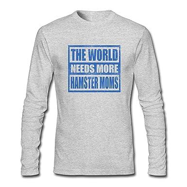Amazon.com: Camiseta de manga larga para hombre The World ...