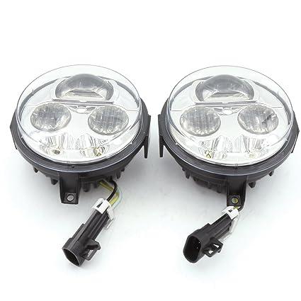 2pcs High/Low Beam LED Headlight Fit for Kawasaki BRUTE FORCE 750 /  Kawasaki Teryx Teryx4
