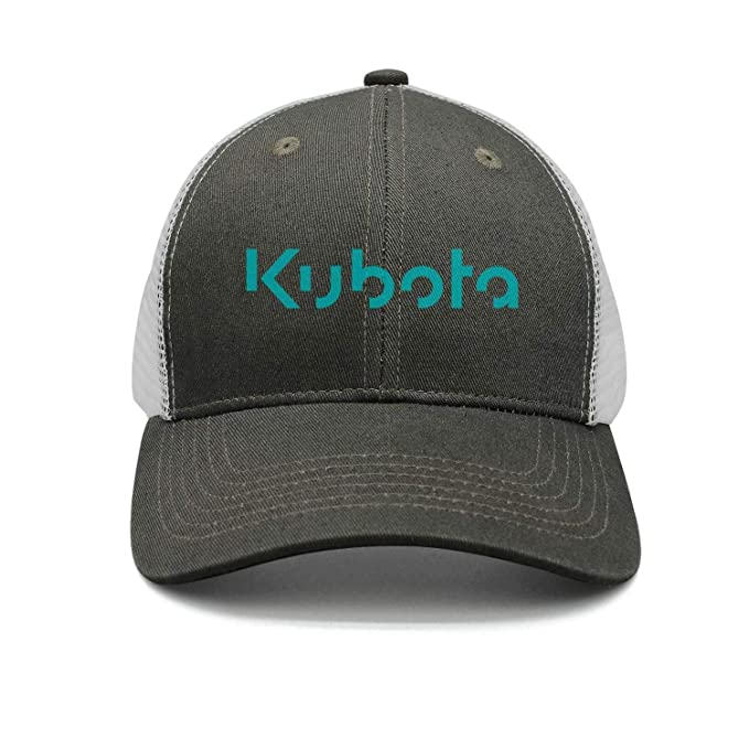 aed682ad Amazon.com: POIUPA Kubota Logo Baseball Cap Curved Blank Hat: Clothing
