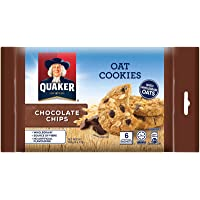 Quaker Oatmeal Cookies, Chocolate Chips, 162g