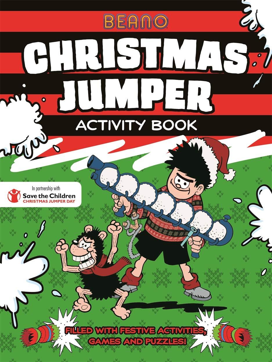 Beano Christmas Jumper Activity Book