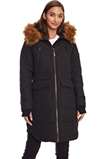 406d9c48b07f4 Amazon.com  Alpine North Women s Vegan Down Long Parka Winter Coat ...