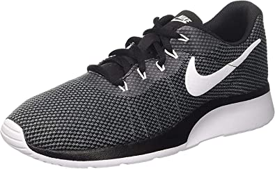 Nike Mens Tanjun Fabric Low Top Lace Up Running Sneaker,