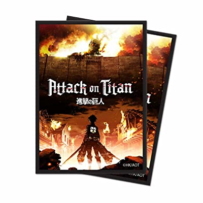 Ultra Pro Official Attack on Titan The Beginning Deck Protector Sleeves (65ct): Toys & Games [5Bkhe1001067]