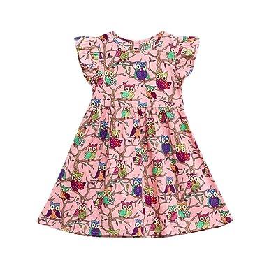 3f4ba9870ace7 幸運な太陽 子供服 赤ちゃん 女の子 幼児 花 漫画 ノースリーブ 服 プリンセス ドレス 赤 素敵