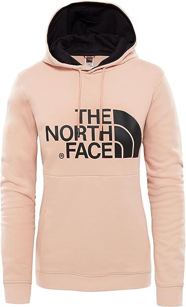 ce0a082f1365 The North Face sudadera con capucha para mujer T935VGYM W DREW HOODY ROSA:  Amazon.es: Ropa y accesorios