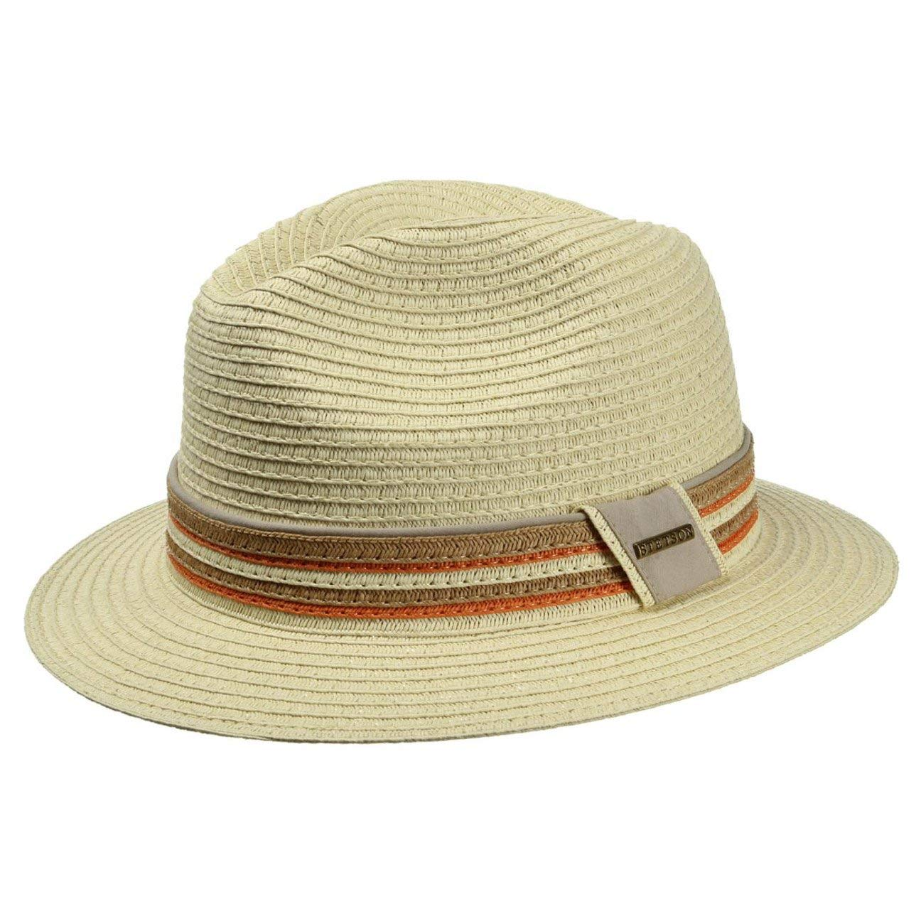 Stetson Ardmore Fedora Hat Men | Straw Bogart Holiday Spring-Summer
