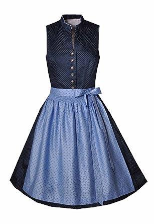 ea5b891b188fcf MarJo Dirndl Mini 58 cm Helene blau/hellblau, Gr. 44: Amazon.de ...