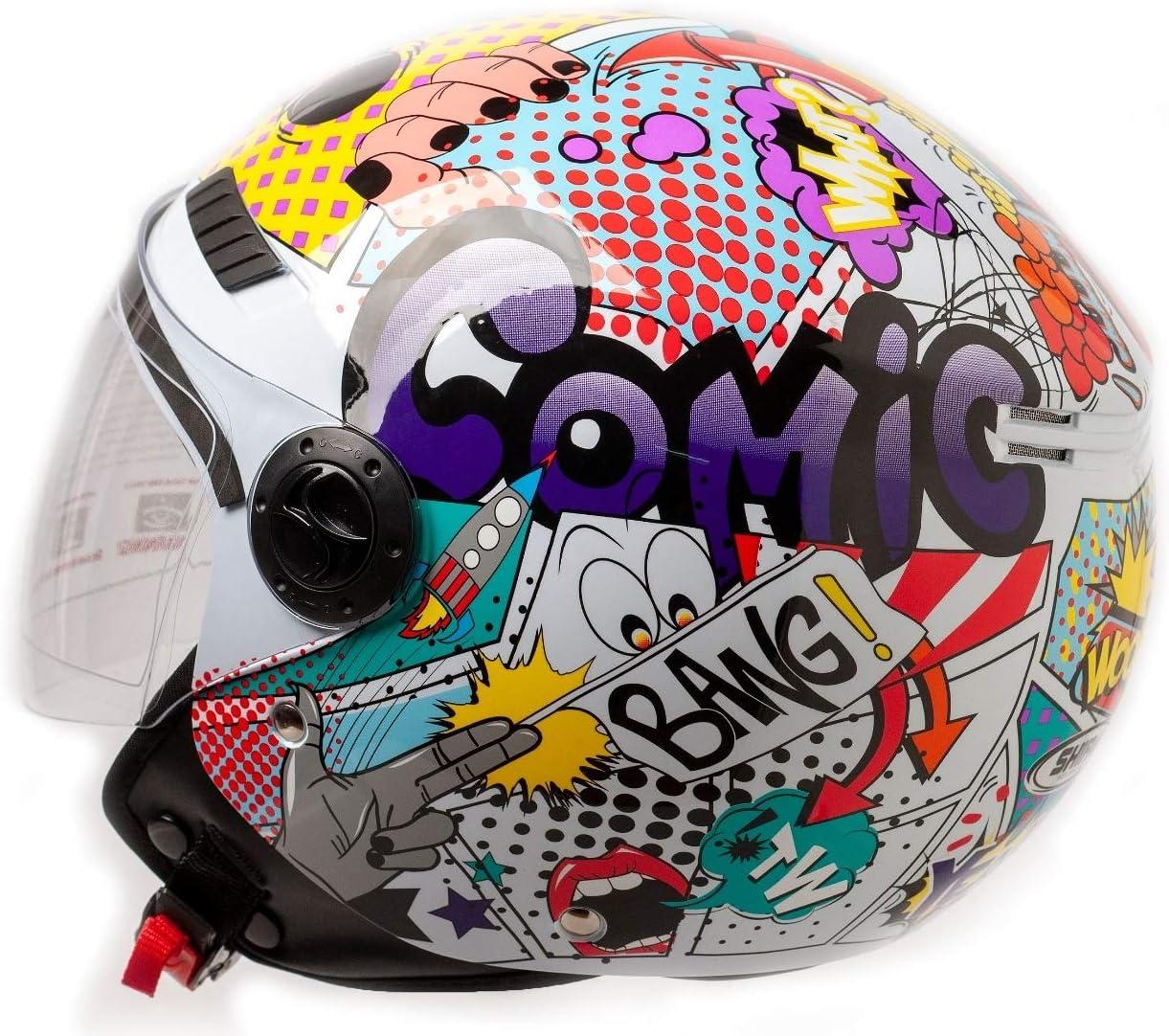 Shiro CASCO SH62 COMIC S