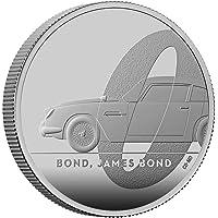 2020 UK Great Britain, James Bond 007, 2 Pounds Proof