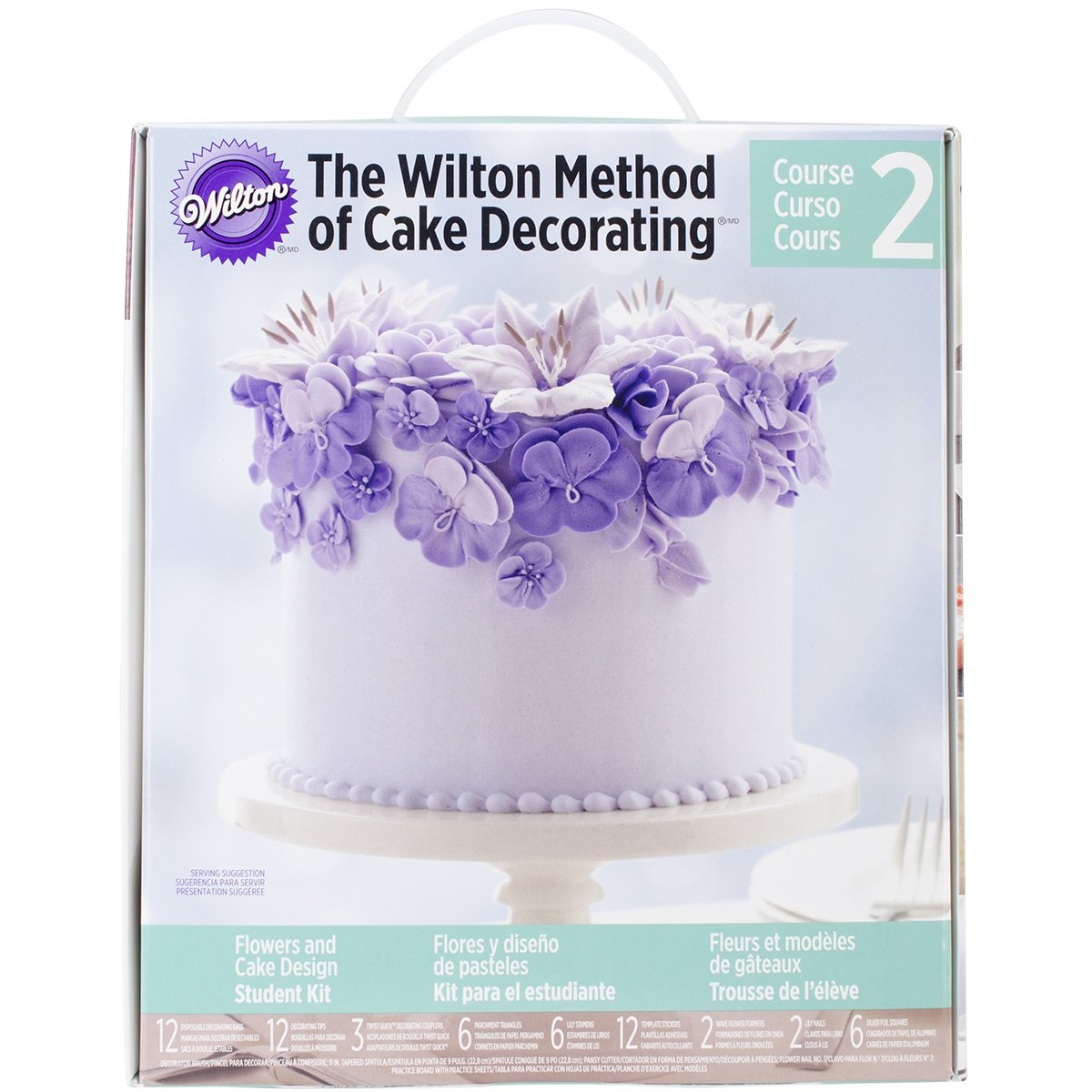 Wilton 2116-2117 Student Kit 2014 Course 2, Multicolored Notions - In Network 94612