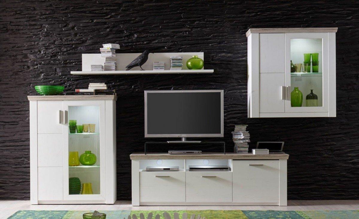 Beeindruckend Anbauwand Wohnzimmer Ideen Von Details Zu Dreams4home Wohnkombination 'bilbao A