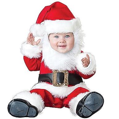 06360d5eda9c9 Amazon.com  Hug Me Toddler Baby Infant Santa Claus OneSize Dress Up Toddler  Christmas Costume  Clothing