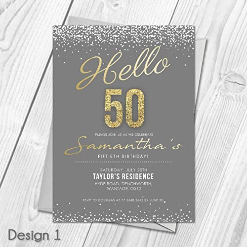 Personalised Birthday Party Invitations Thank You Cards