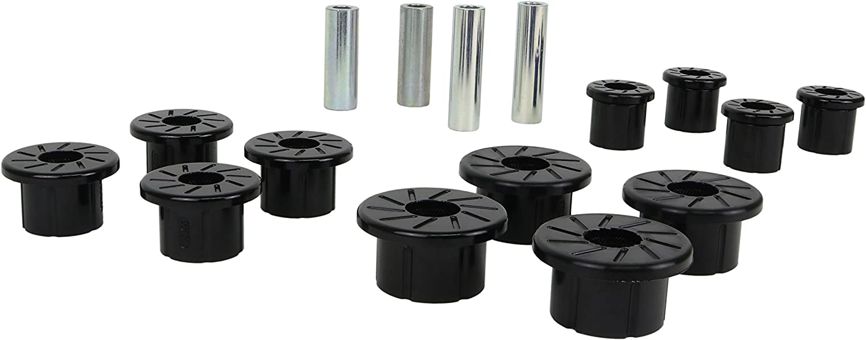 Nolathane REV165.0008 Black Rear Leaf Spring Bushings Kits