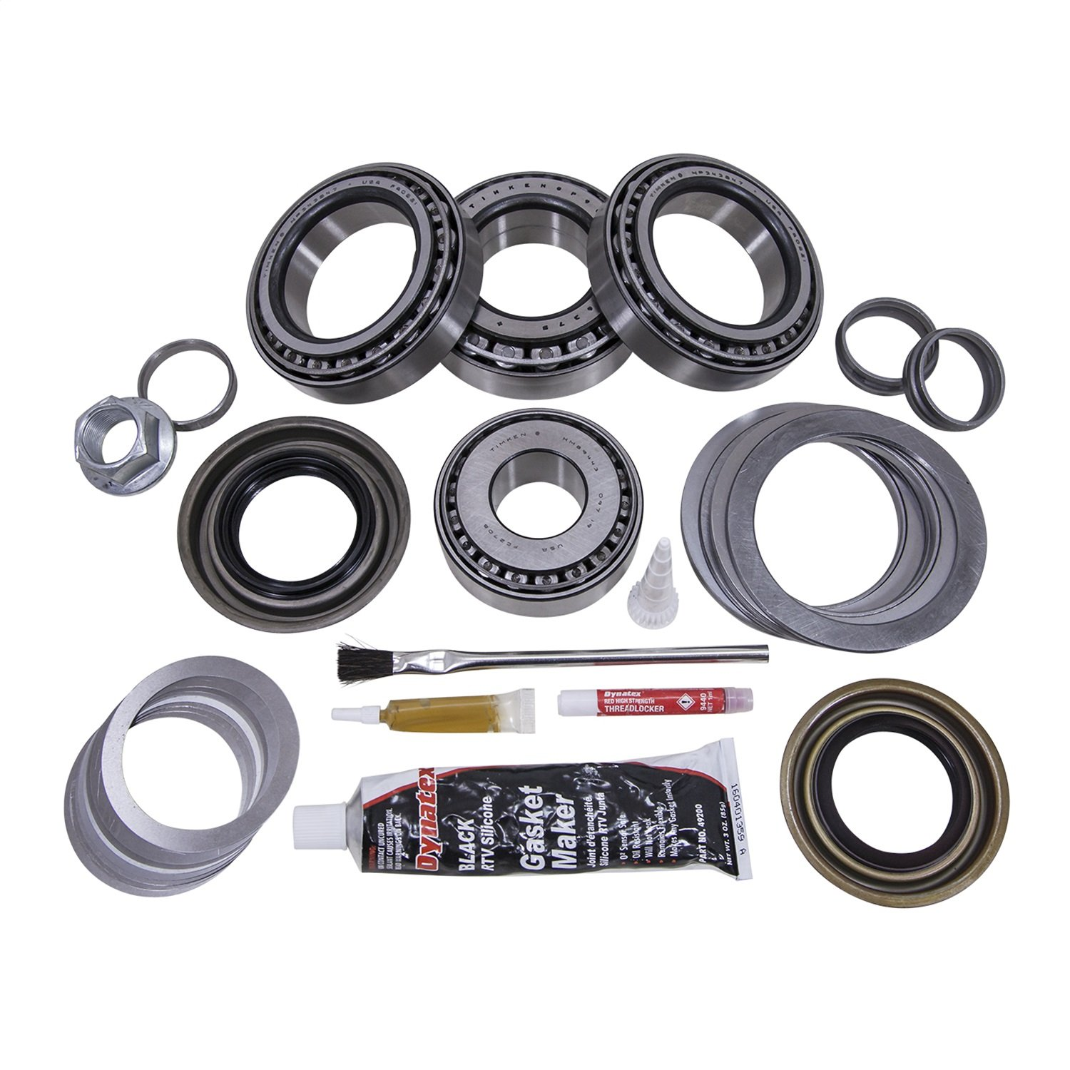 Yukon Gear /& Axle Master Overhaul Kit for Ford 9.75 Differential YK F9.75-D