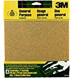 3M Sandpaper Aluminum Oxide, 9-Inch x 11-Inch, Assorted-Grit