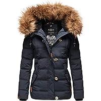 Navahoo Warme B831 Gewatteerde winterjas voor dames, teddybont