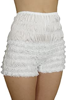 product image for Malco Modes Womens Sexy Ruffle Panties Tanga Dance Bloomers Sissy Booty Shorts