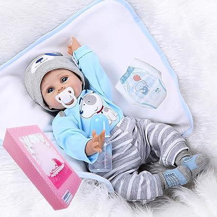 "10/"" Handmade Real Look Newborn Baby Vinyl Silicone Realistic Reborn Boys Dolls"